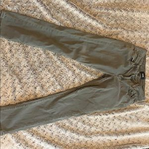 Paige Brigitte Boyfriend Green Jeans